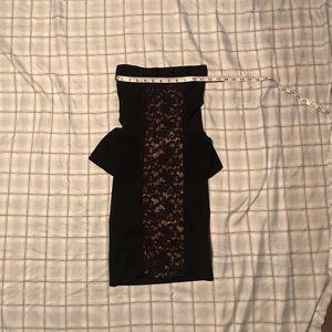 Bebe strapless cocktail dress size XS